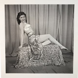 1950s Pin Up Framed Photograph For Sale
