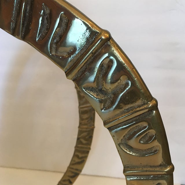 Vintage Brass Ibex Sculpture For Sale In Miami - Image 6 of 10