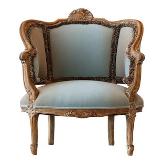 "Upholstered ""Marseille"" Chair For Sale"