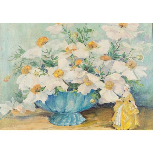 "Mary Purdum ""Big White Flowers"" Painting - Image 3 of 10"