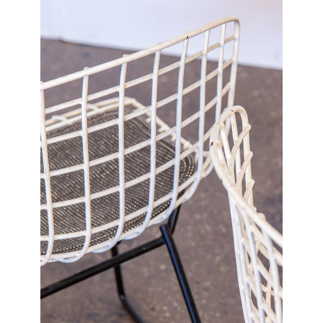 Baby Bertoia Chairs - a pair For Sale In New York - Image 6 of 9