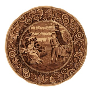 """Spode """"Woodman"""" Archive Collection Plate For Sale"""