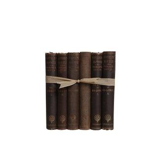 Antique Decorative Book Gift Set: Waverley Novels