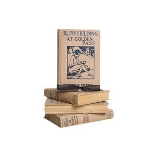 Vintage Book Gift Set: Ruth Fielding Mix, S/4 For Sale
