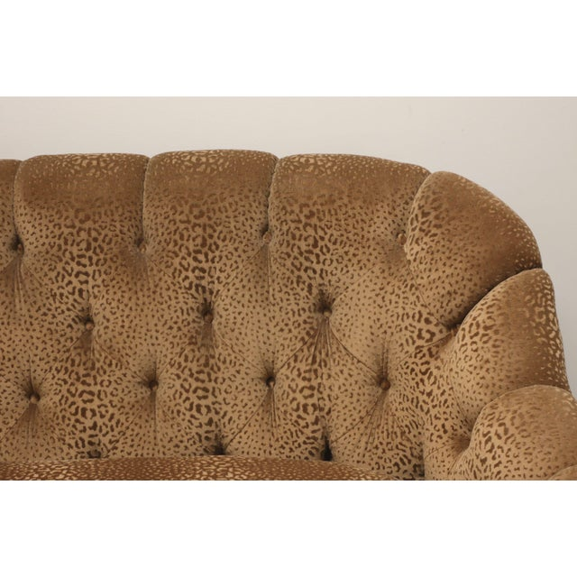 """Marge Carson Transitional 74"""" Loveseat For Sale In Charlotte - Image 6 of 13"""