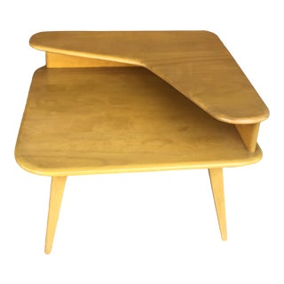 1950s Heywood-Wakefield Corner End Table For Sale