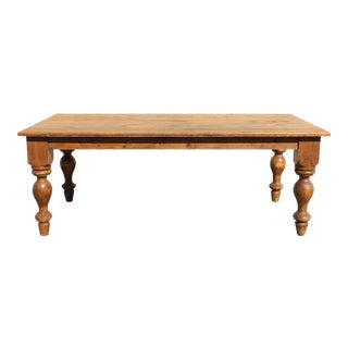 Solid Pine Rustic Table