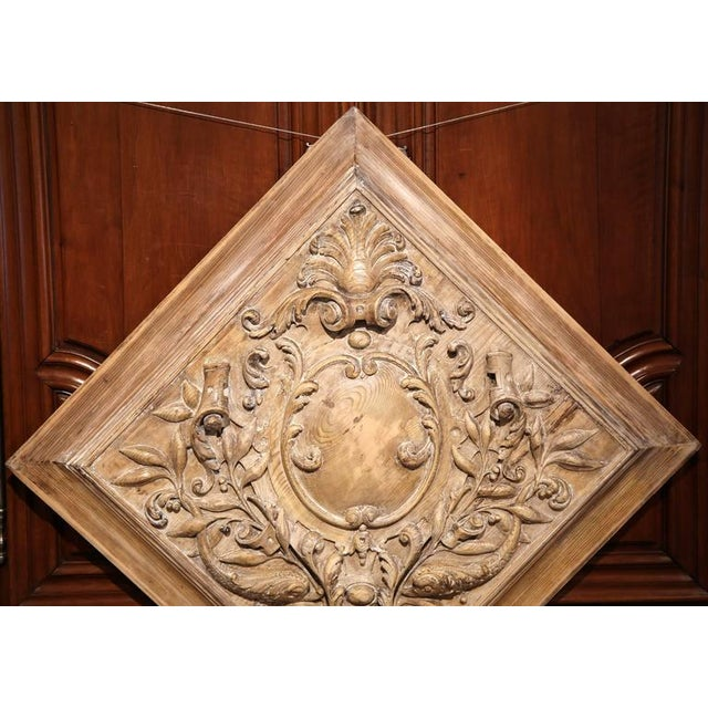 19th C. French Carved Plaque - Image 3 of 9