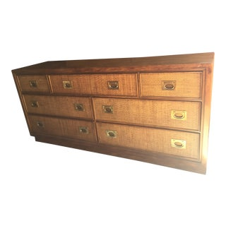 American of Martinsville Mid Century 7-Drawer Dresser For Sale