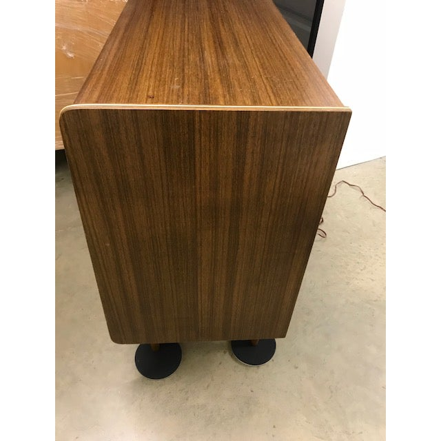 Vintage Mid-Century Modern Dry Bar For Sale - Image 4 of 7