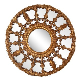 Regency Style Round Mirror For Sale