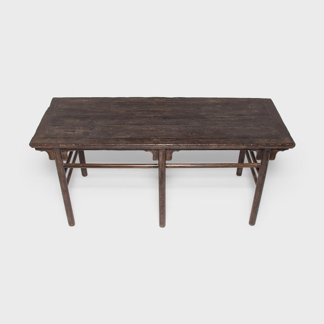 Early 19th Century 19th Century Chinese Calligrapher's Table For Sale - Image 5 of 7
