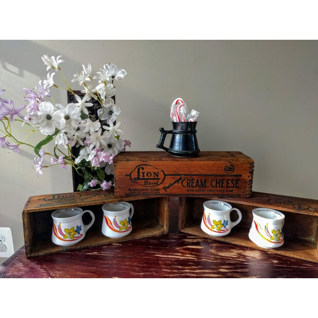 Vintage Wooden Cheese Boxes - Set of 3 For Sale - Image 9 of 10