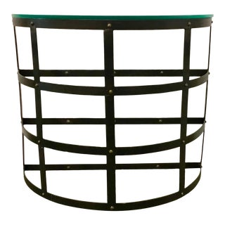 Arteriors Industrial Modern Blakewell Console Table For Sale