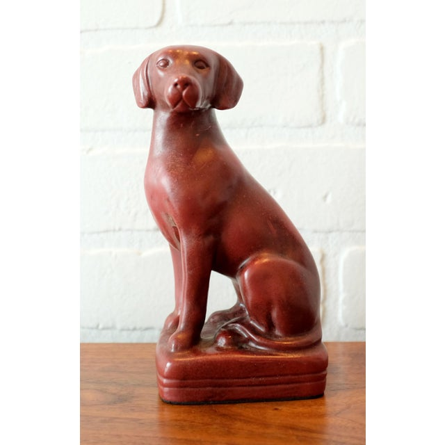 Plastic Vintage Red Dog Bookends - a Pair For Sale - Image 7 of 9