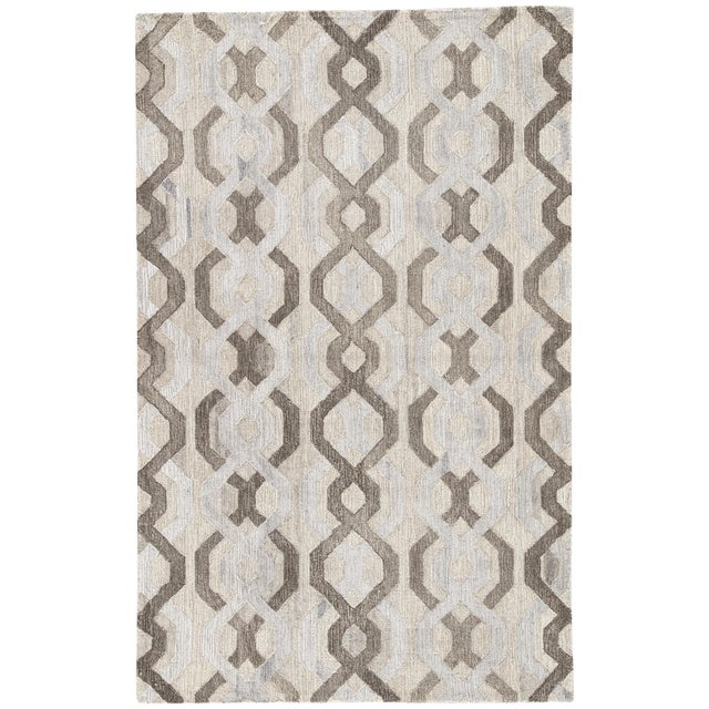 Jaipur Living Fairfield Handmade Trellis Area Rug - 2′ × 3′ For Sale
