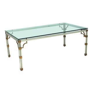 1970s Hollywood Regency Dining Table For Sale