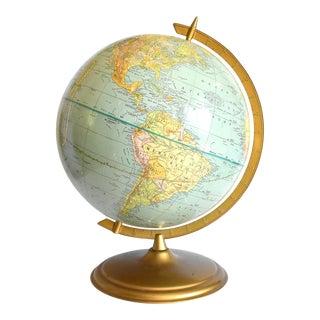 Vintage French Globe Terrestre Universel For Sale
