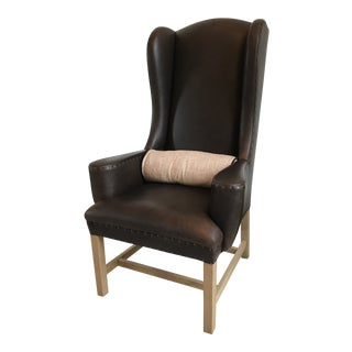 Restoration Hardware Belford Wingback Chair For Sale