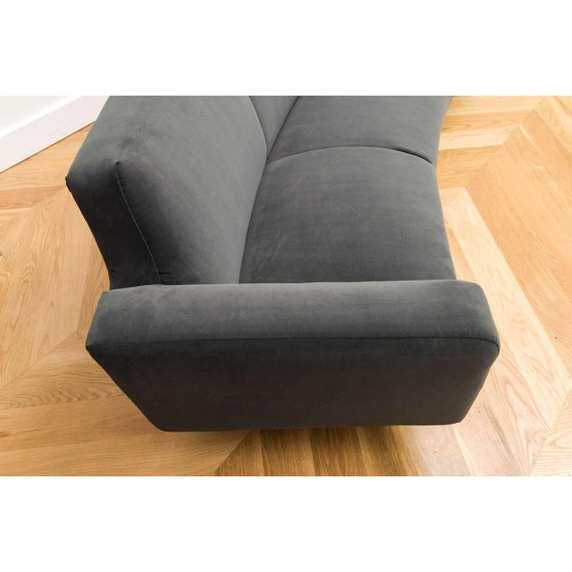 Illum Wikelso Curved Danish Sofa For Sale In San Francisco - Image 6 of 9