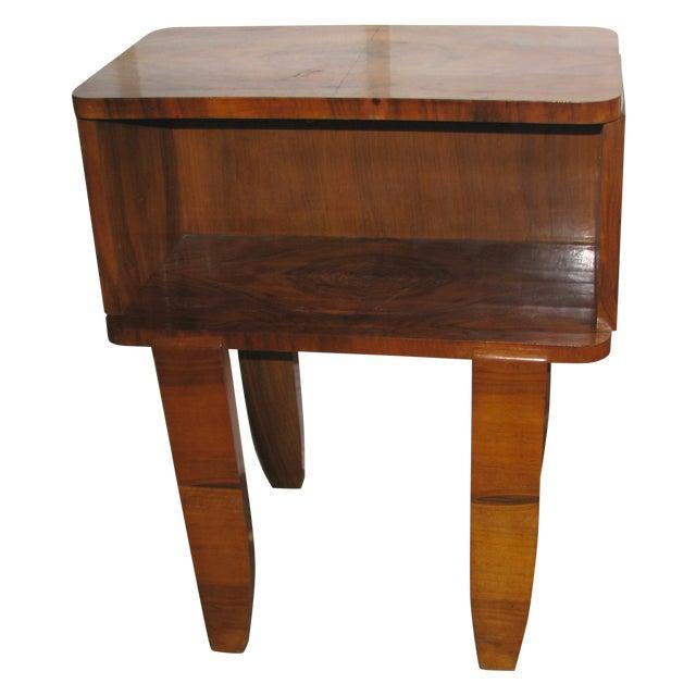 French Art Deco Burl Wood Cabinet / Liquor Bar - Image 1 of 11