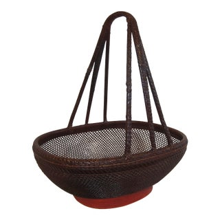 Antique Basket For Sale