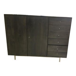 Restoration Hardware Hudson Armoire With Steel Base