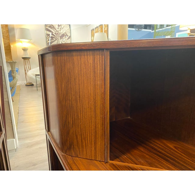 Wood Mid Century Bedside Tables - a Pair For Sale - Image 7 of 11