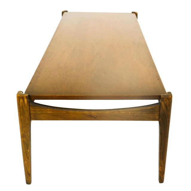 Bassett Mid-Century Modern Coffee Table - Image 5 of 10