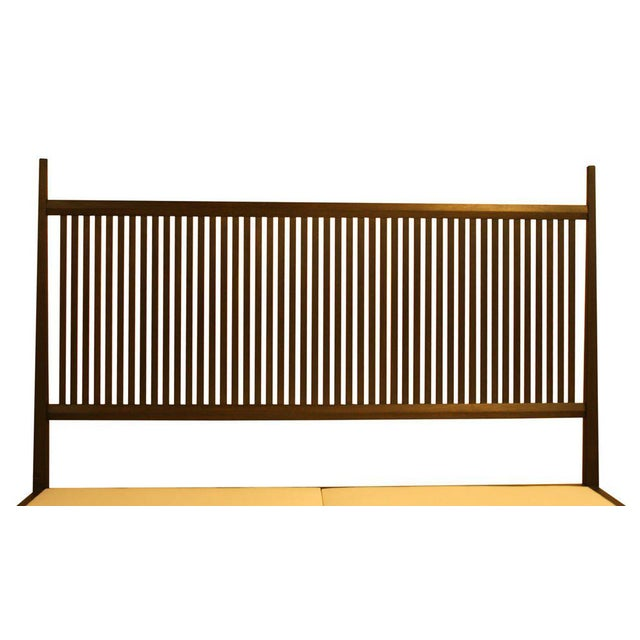 Nichol Walnut Platform Bed - Image 8 of 8