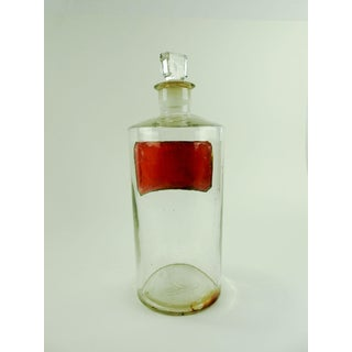 Antique Apothecary Camphor Bottle Preview