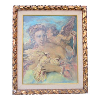 Venus and Cupid Painting For Sale