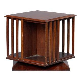 Edwardian Revolving Desk Book Stand, Circa 1900 For Sale