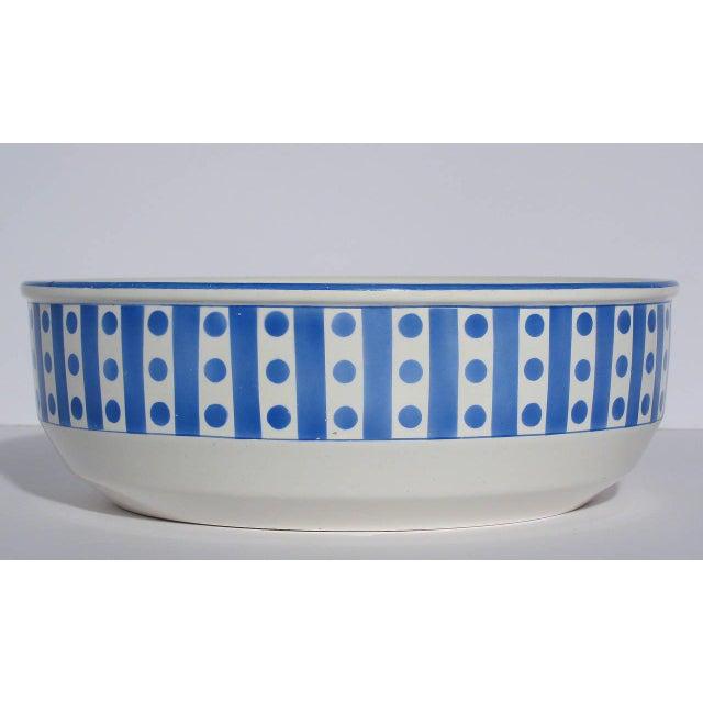 Large Belgian Porcelain Pitcher and Bowl - Image 6 of 9