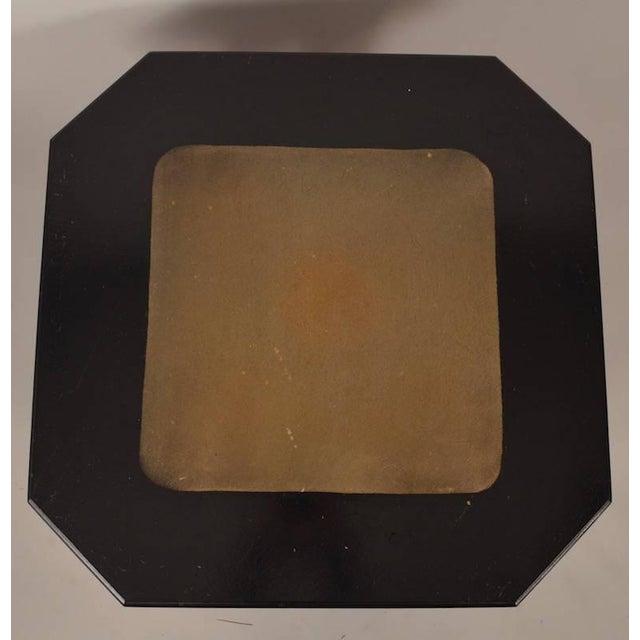 Wicker Art Deco Wicker Table For Sale - Image 7 of 8