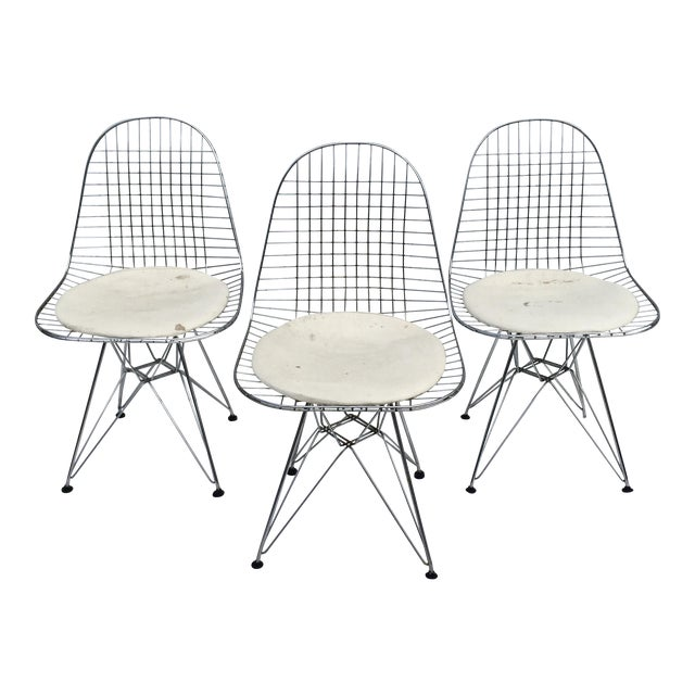 """Mid-Century Modern """"Eiffel"""" Style Chairs - Set of 3 For Sale"""