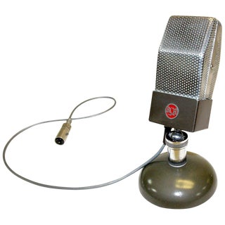 Rca Studio Microphone, Circa 1930's. Art Deco and Rare For Sale