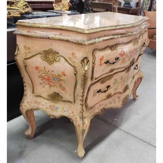 Rococo Venetian Rococo Commode Circa 1900 For Sale - Image 3 of 6