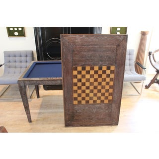French Cerused Oak Game Table Preview
