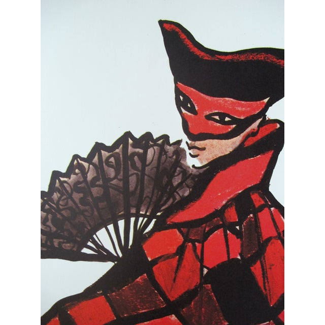 Date: 1986 Size: 46.25 x 61.25 inches Notes: Poster, oversized, linen-backed Artist: Yves Saint Laurent This original...