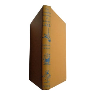 Vintage The Complete Nonsense of Edward Lear Book For Sale