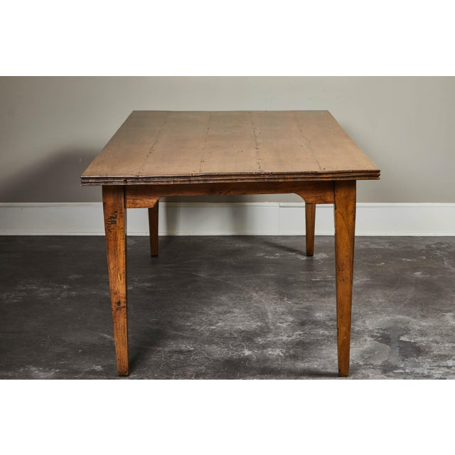 Rustic 20th C. Indonesian Teak Farm Table For Sale - Image 3 of 9
