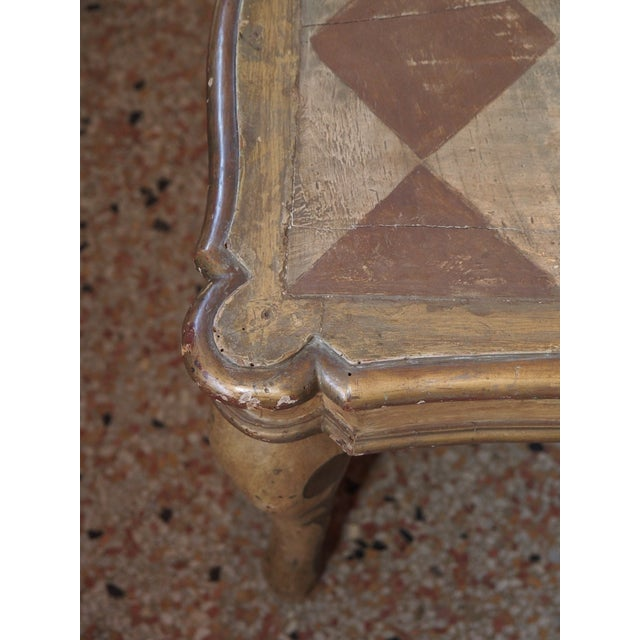 Early 19th Century Small 19th Century Italian Side Table For Sale - Image 5 of 7
