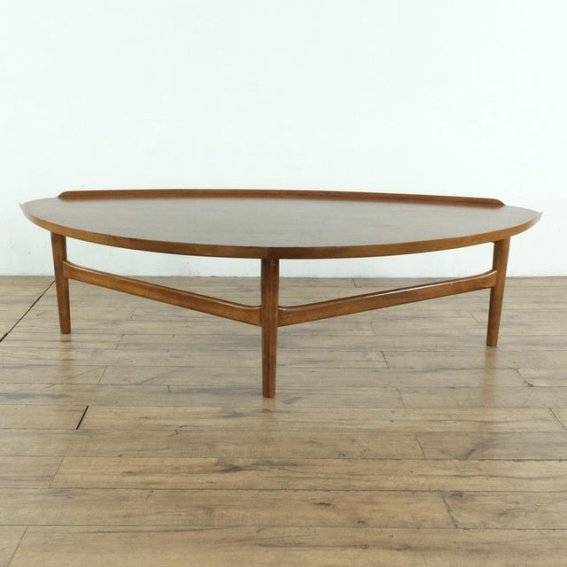 Mid-Century Modern Finn Juhl Teak Coffee Table For Sale - Image 10 of 10