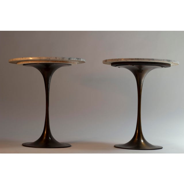 Contemporary Hugh Acton Tulip Tables - a Pair For Sale - Image 3 of 3