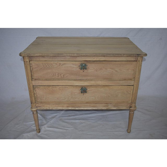 Early 19th Century French Bleached Directoire Commode For Sale In Houston - Image 6 of 6