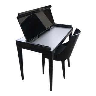 Contemporary Roche Bobois Pianoforte Secretary Desk and Chair - 2 Pieces For Sale