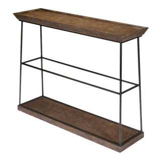 Hunt Country Small Console, Light Mink For Sale