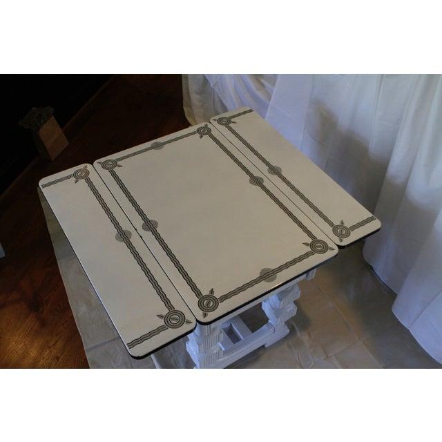 Art Deco Enamel Topped Dining Set - Image 3 of 11
