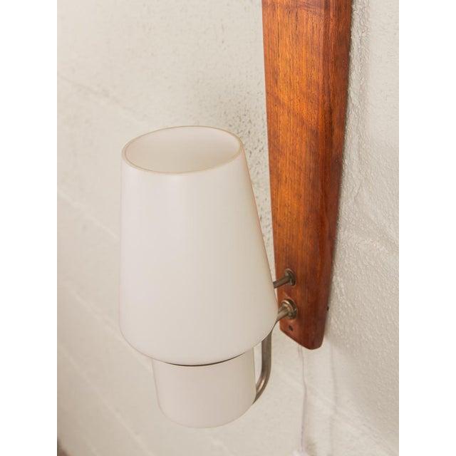 Danish Modern Vertical Sconce Light For Sale - Image 4 of 10